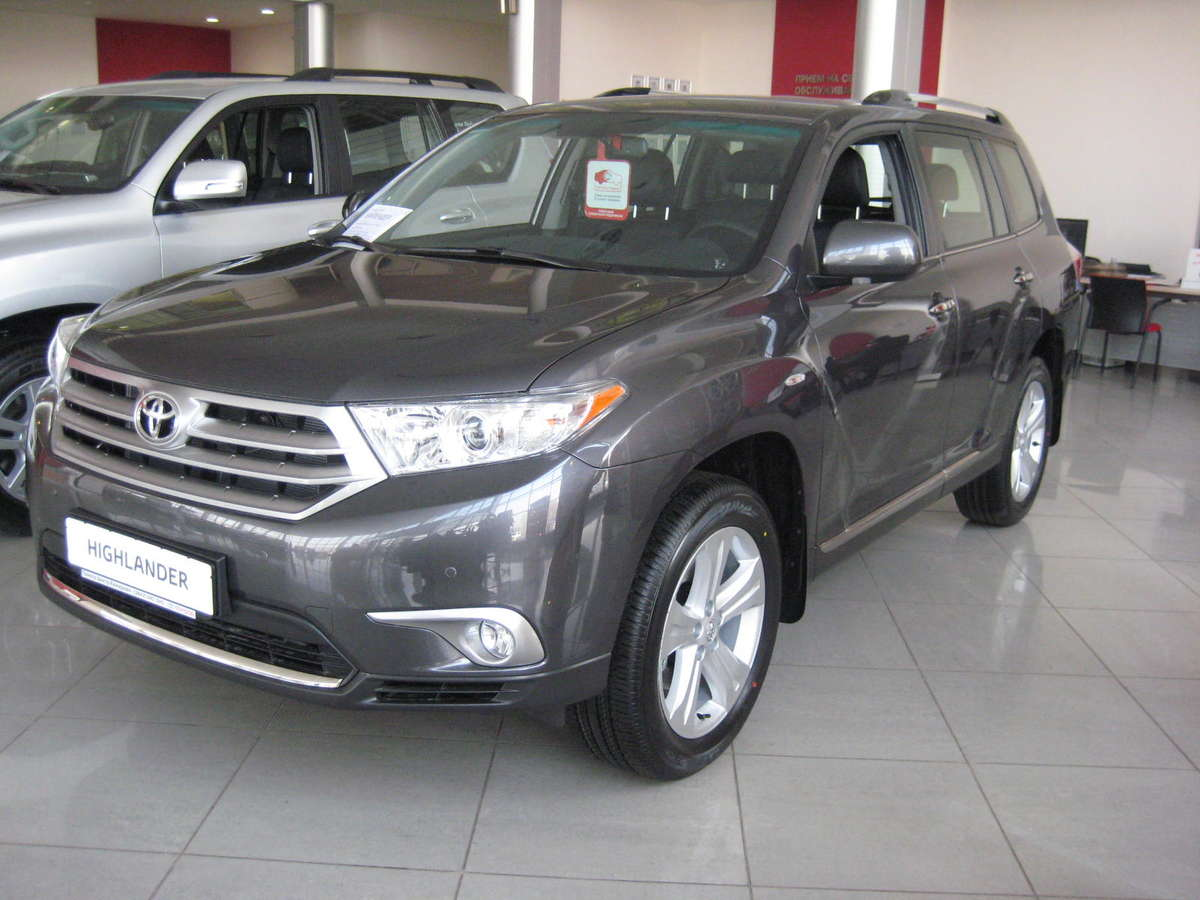 used 2011 toyota highlander photos 3456cc gasoline automatic for sale. Black Bedroom Furniture Sets. Home Design Ideas