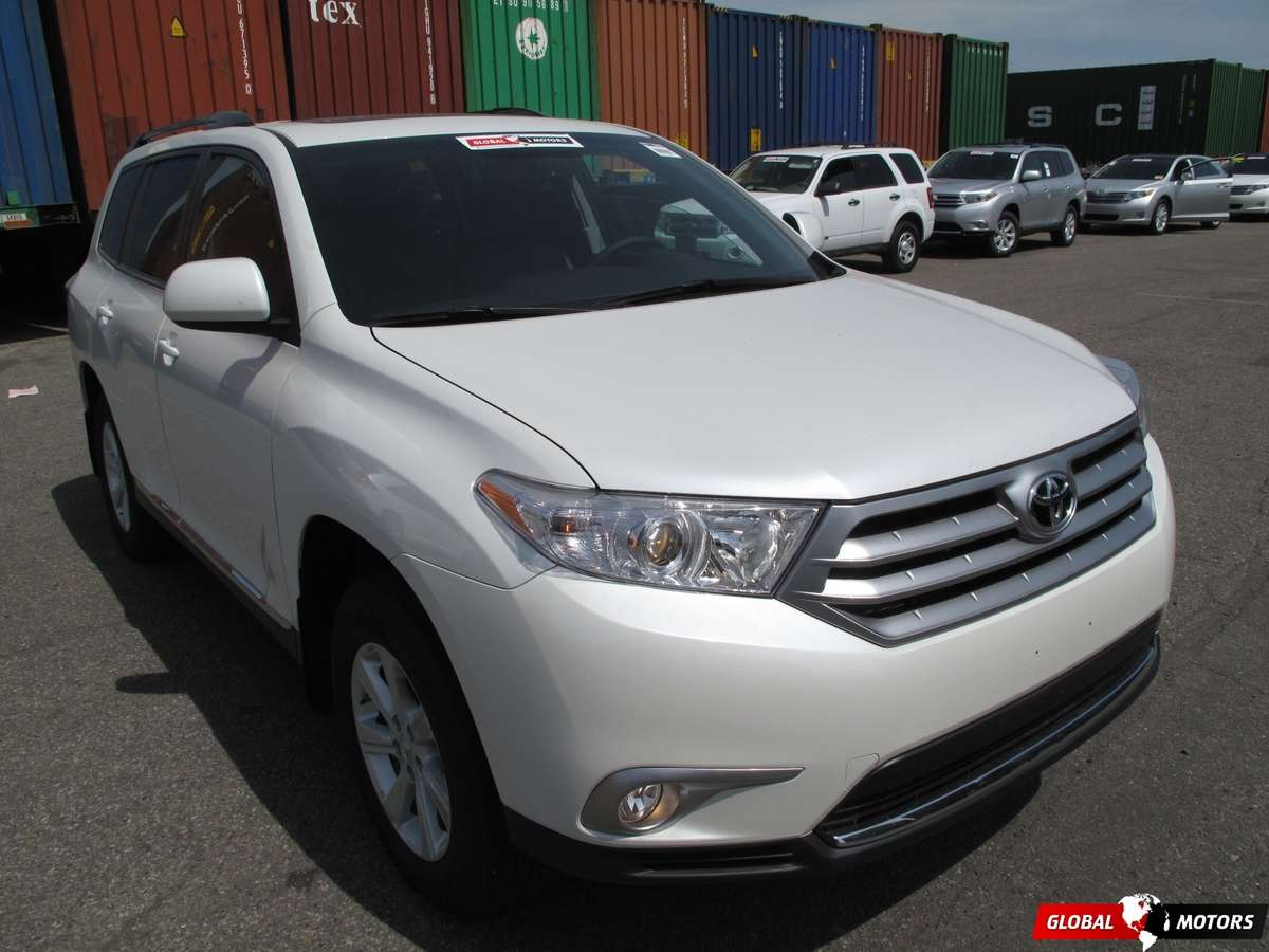used 2012 toyota highlander photos 2700cc gasoline ff automatic for sale. Black Bedroom Furniture Sets. Home Design Ideas