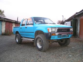 1990 Toyota Hilux Pick Up Pictures 2800cc Diesel