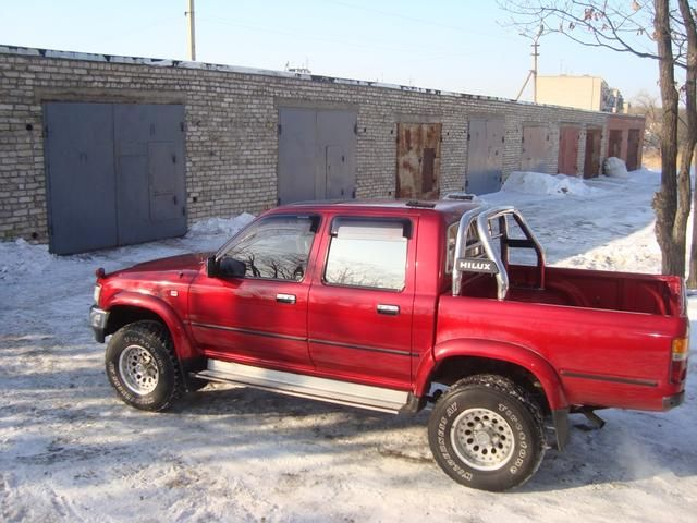 toyota hilux pick  pictures