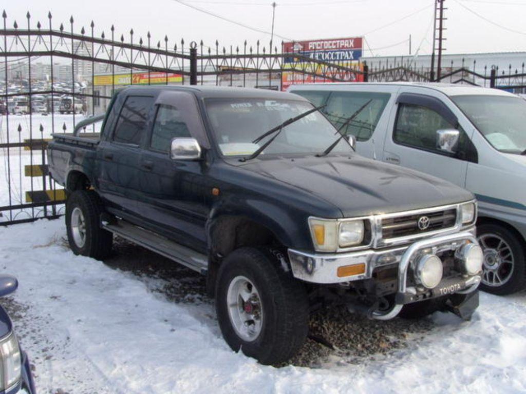 Kekurangan Toyota Hilux 1994 Perbandingan Harga