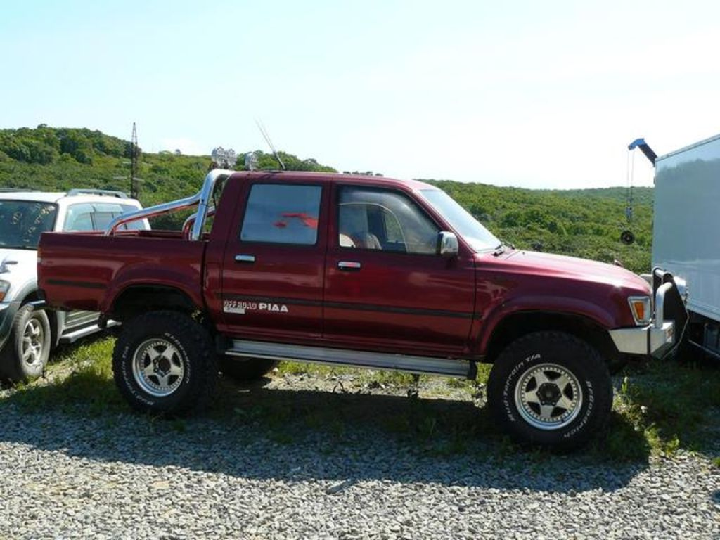 1997 toyota hilux pick up pictures 2500cc diesel. Black Bedroom Furniture Sets. Home Design Ideas