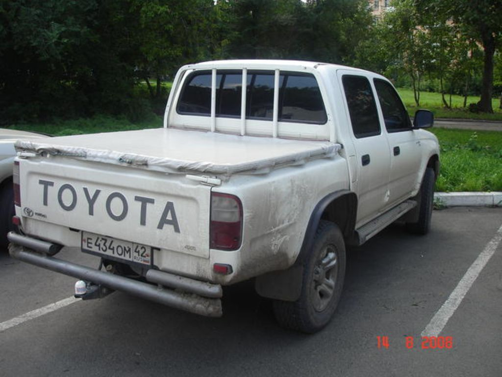 2001 toyota hilux pick up for sale. Black Bedroom Furniture Sets. Home Design Ideas