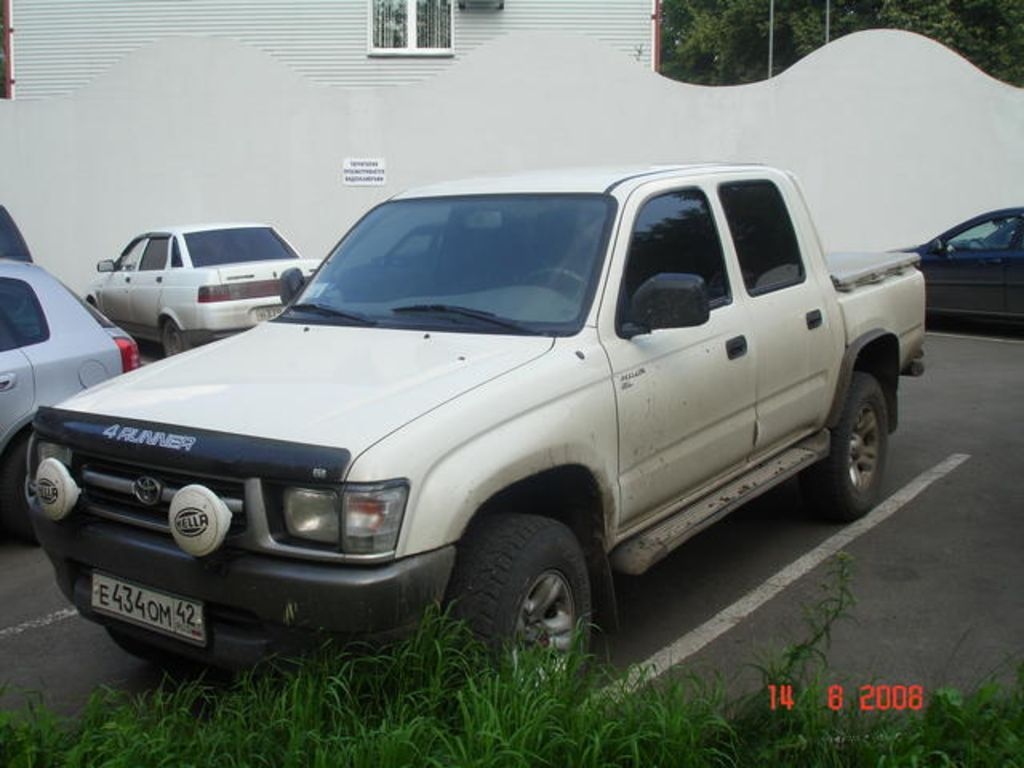 2001 toyota 4runner engine  2001  free engine image for