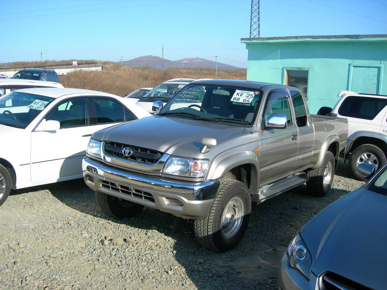 2002 toyota hilux pick up images 2700cc gasoline. Black Bedroom Furniture Sets. Home Design Ideas