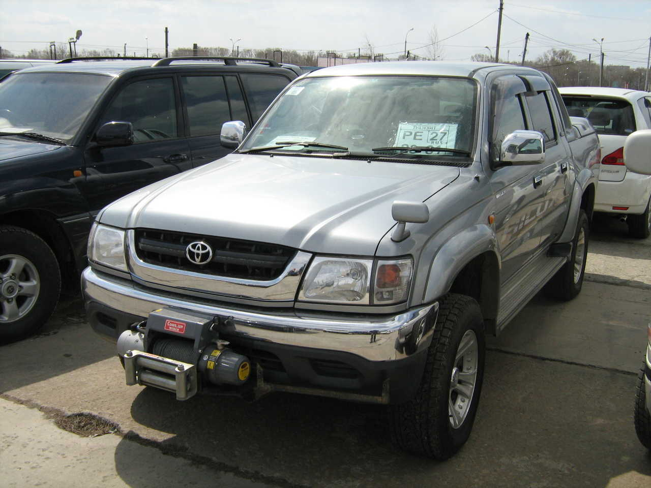 Used 2002 Toyota Hilux Pick Up Photos 2700cc Gasoline