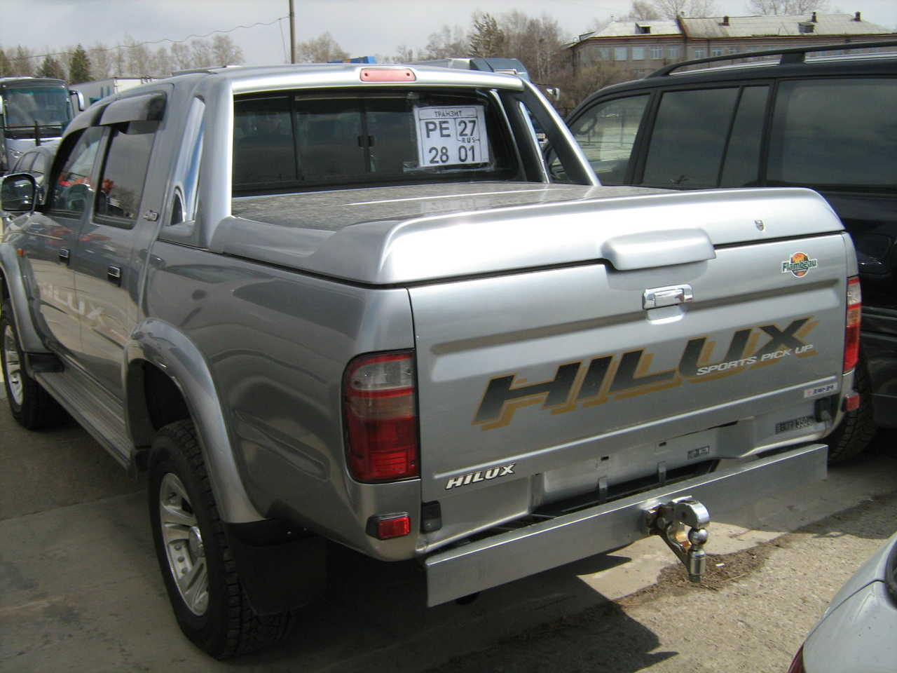 2002 toyota hilux pick up photos 2 7 gasoline automatic for sale. Black Bedroom Furniture Sets. Home Design Ideas