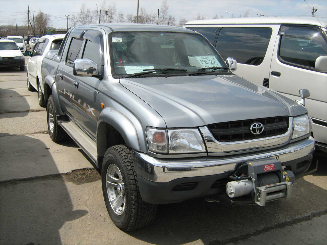 2002 toyota hilux pick up pictures gasoline. Black Bedroom Furniture Sets. Home Design Ideas