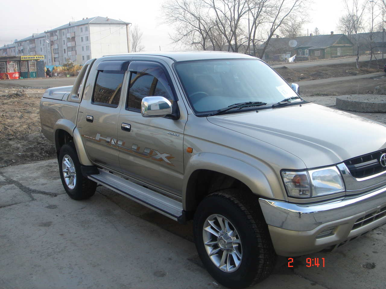 2002 Toyota Hilux Pick Up For Sale 2700cc Gasoline