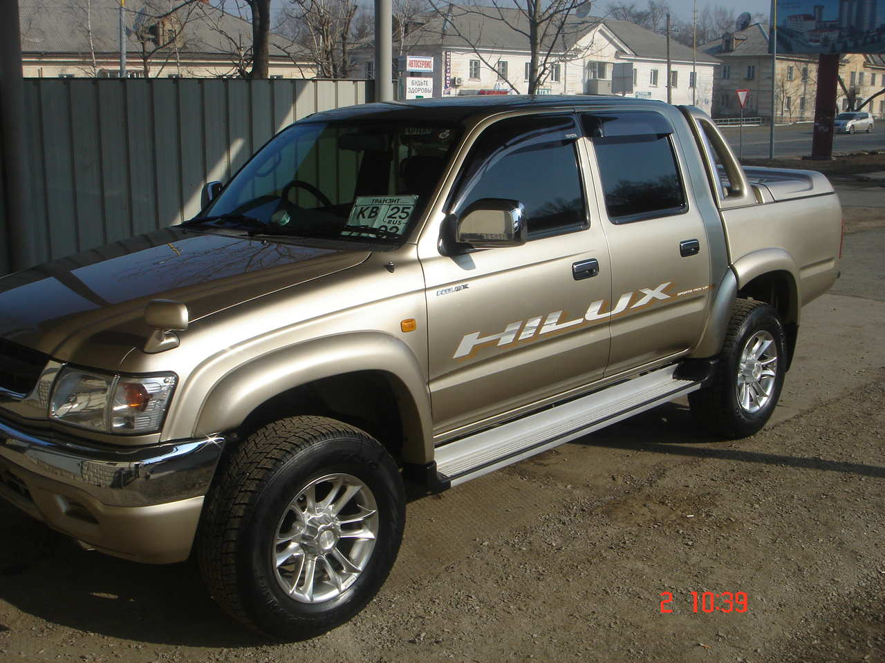 2002 Toyota Hilux Pick Up Images 2700cc Gasoline