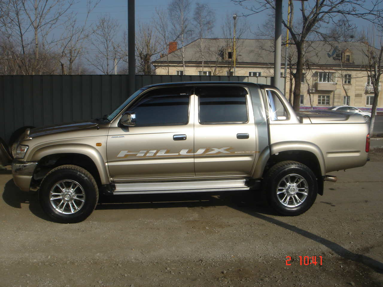 2002 toyota hilux pick up pictures gasoline automatic for sale. Black Bedroom Furniture Sets. Home Design Ideas
