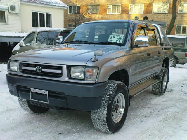 Toyota Tacoma Towing Capacity >> 2003 Toyota Hilux PICK UP specs: mpg, towing capacity ...