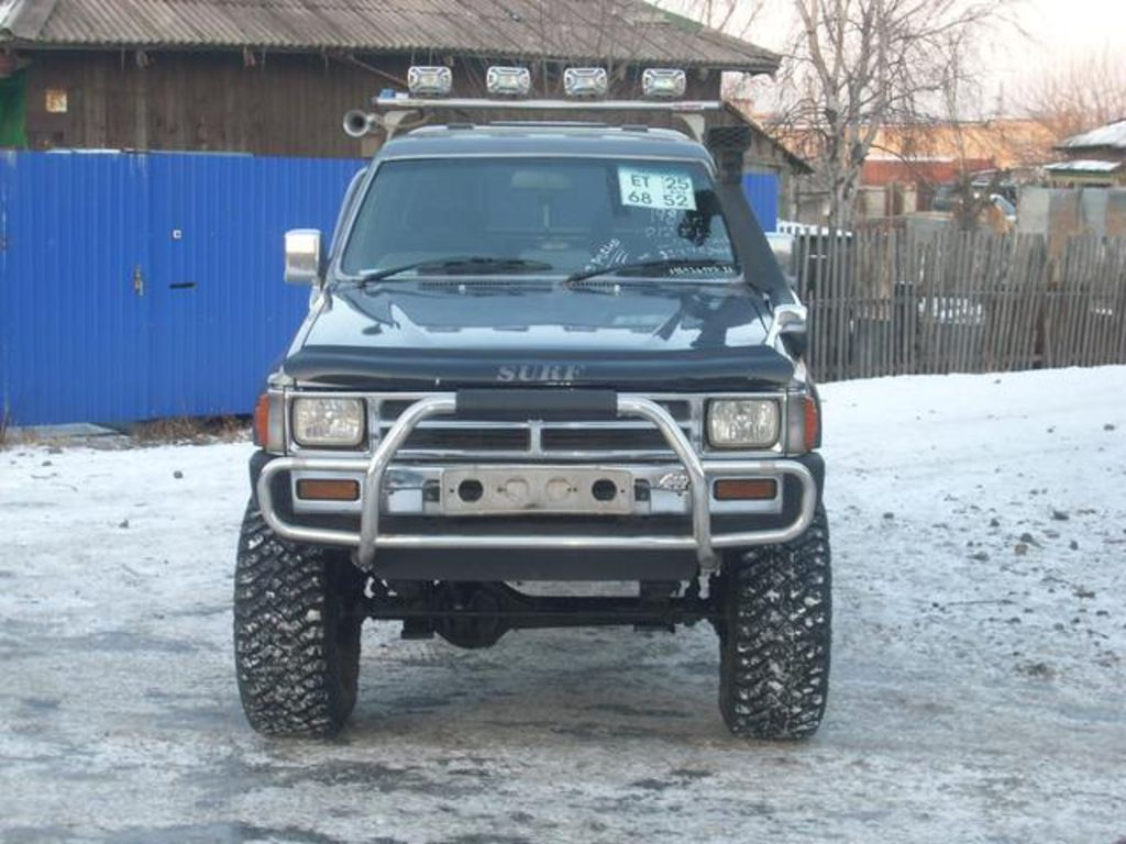 road vehicle used toyota hilux surf 1988 toyota hilux surf pictures