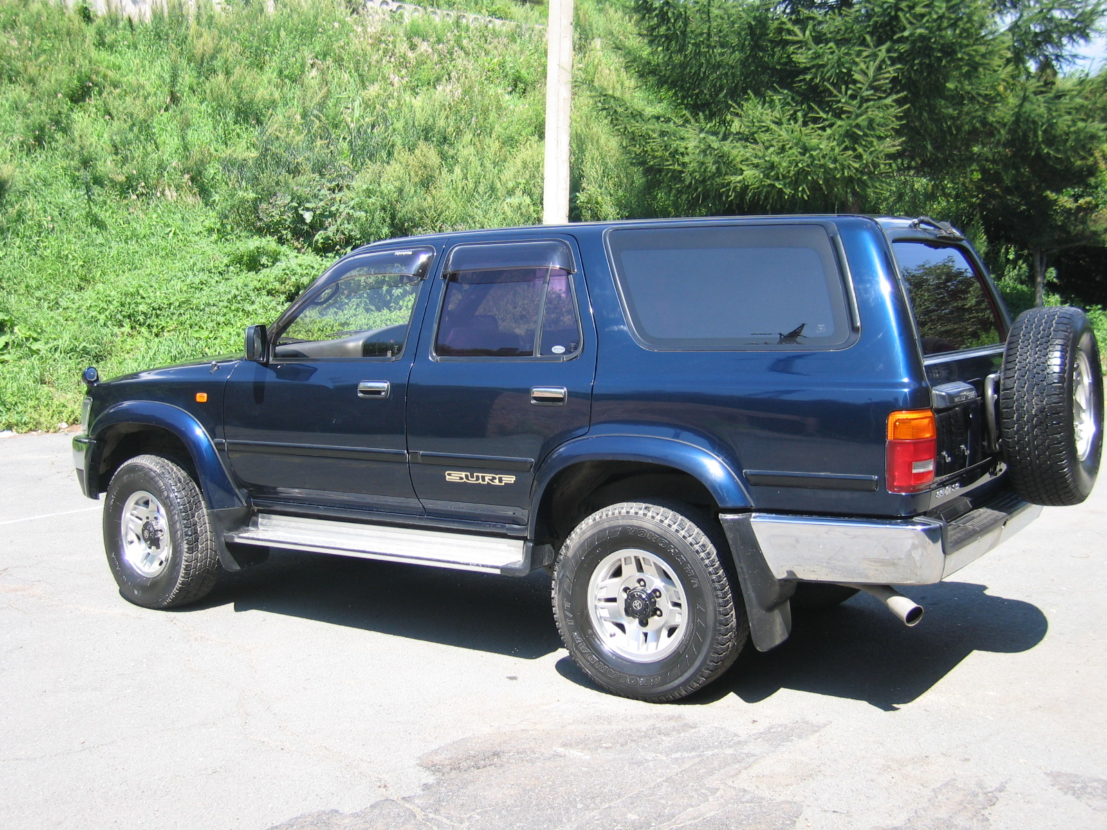 1995 Toyota Hilux Surf Pictures 3000cc Diesel