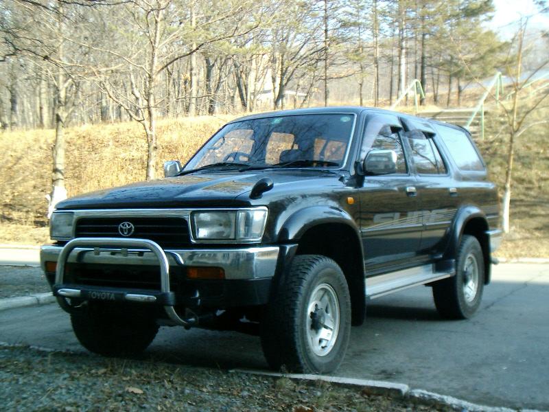 1995 Toyota Hilux Surf Specs  Engine Size 3000cm3  Fuel