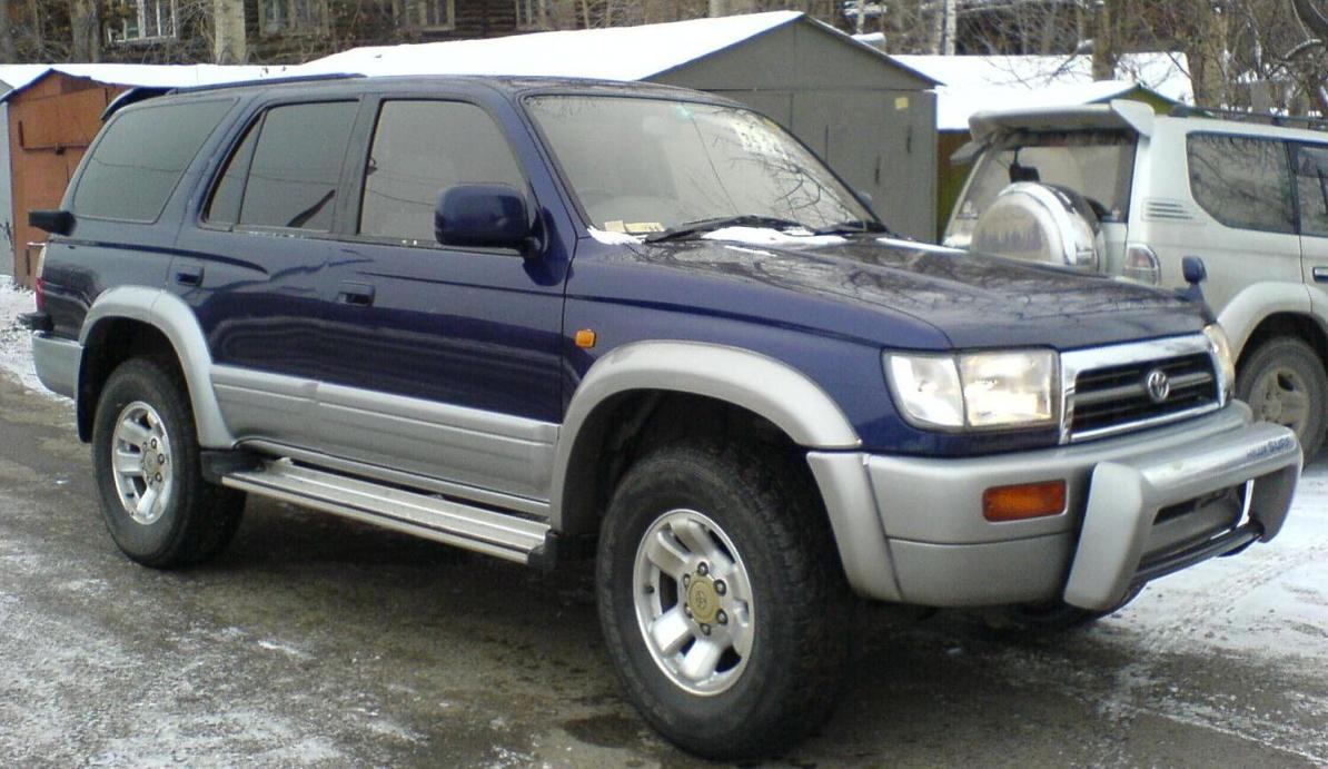 1996 Toyota Hilux Surf Specs  Engine Size 3000cm3  Fuel