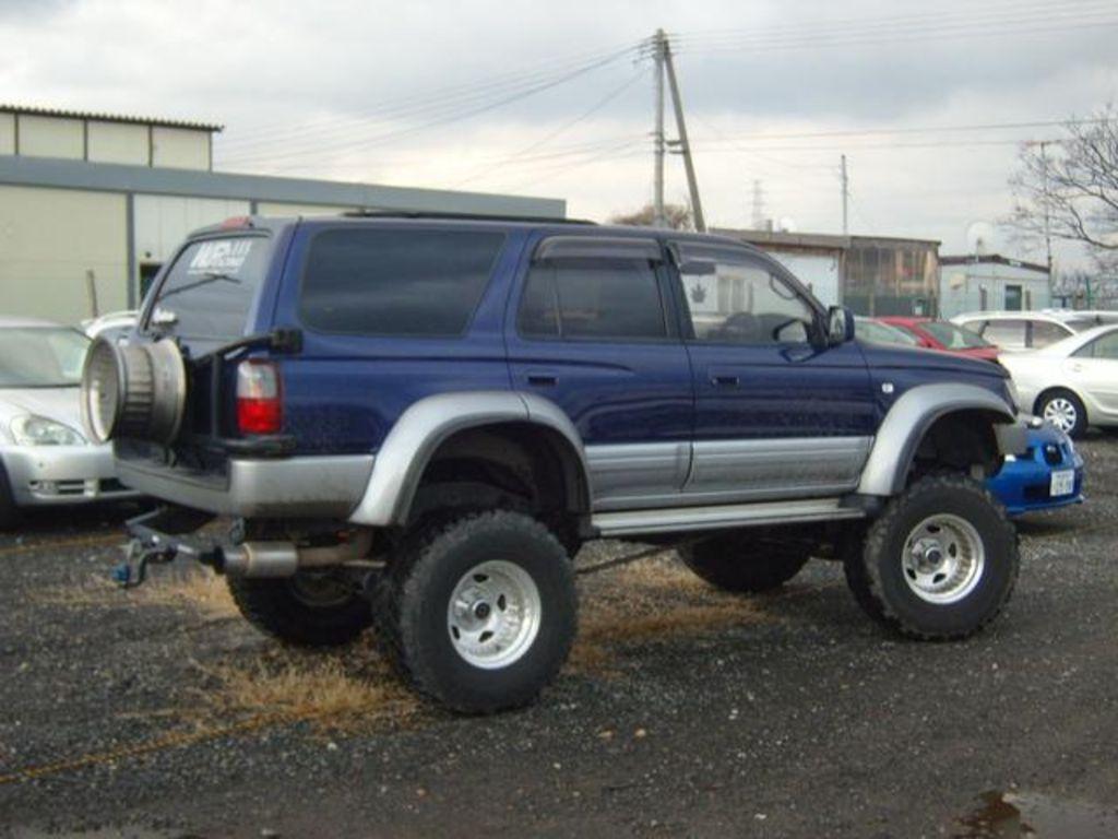 1996 Toyota Hilux Surf Pictures 3400cc Gasoline