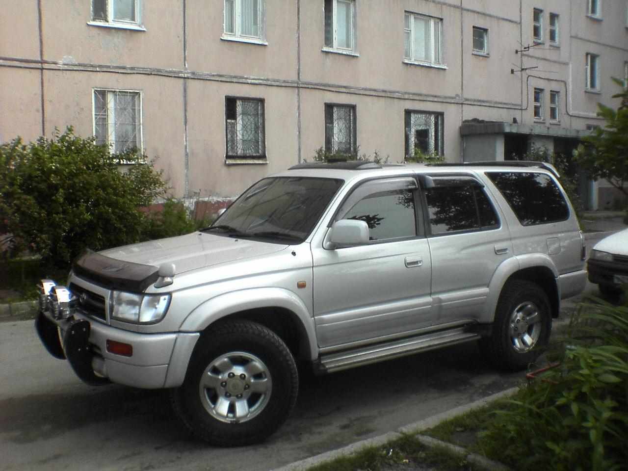 1997 Toyota Hilux Surf Specs  Engine Size 3000cm3  Fuel