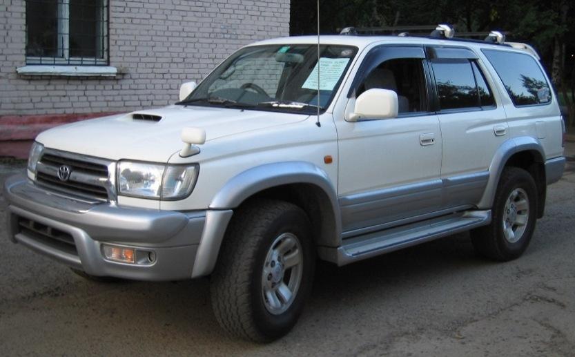 1998 Toyota Hilux Surf Specs  Engine Size 3000cm3  Fuel