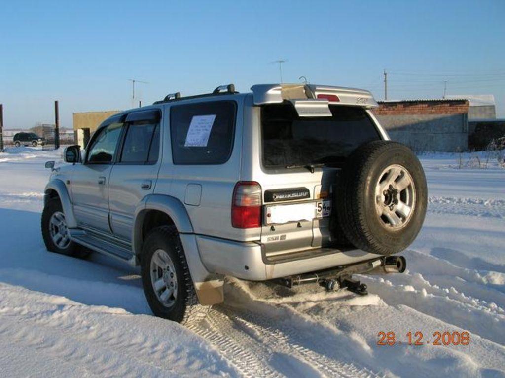 1998 Toyota Hilux Surf Specs  Engine Size 2700cm3  Fuel