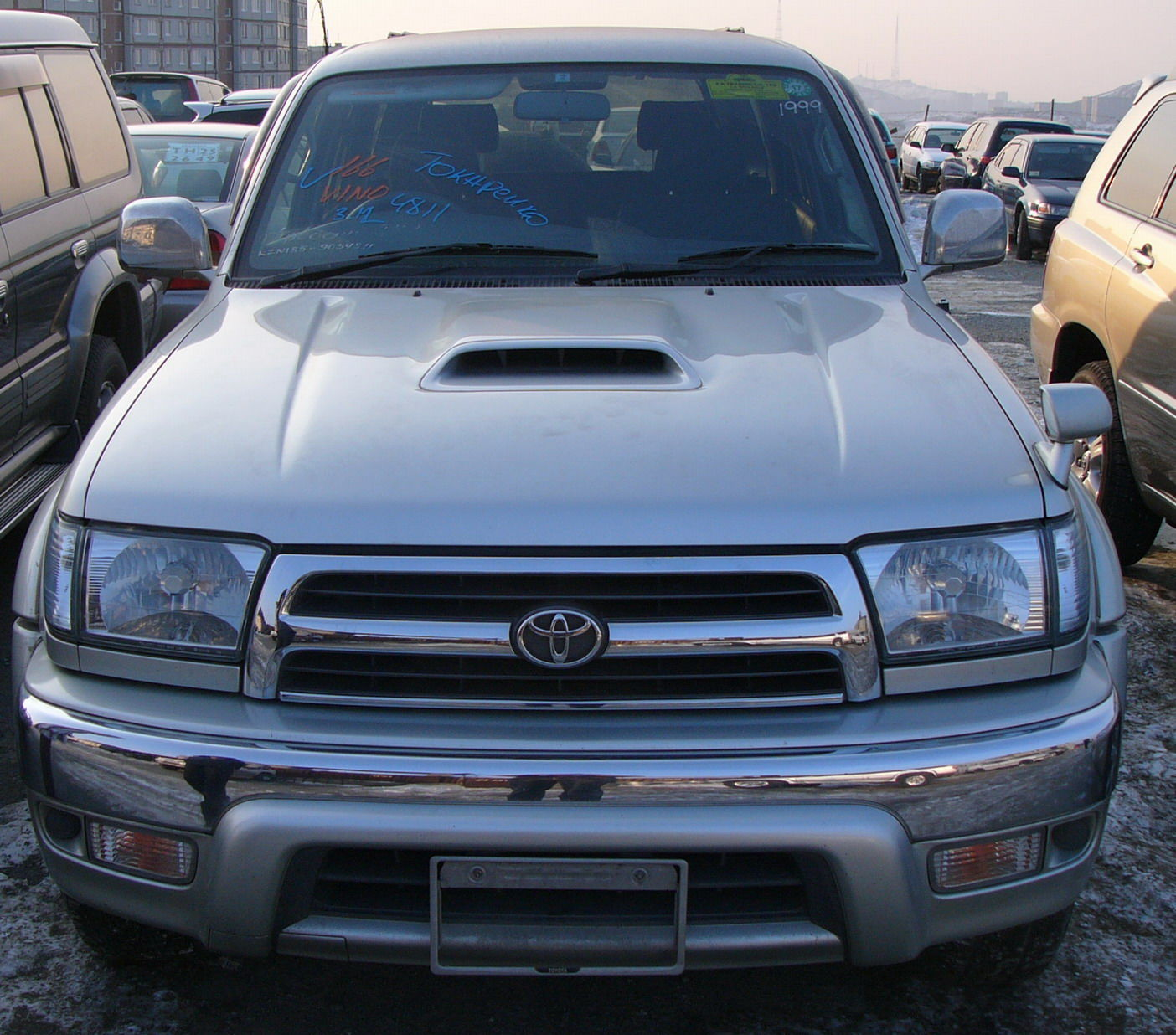 Toyota Suff: 1999 Toyota Hilux SURF Pictures For Sale