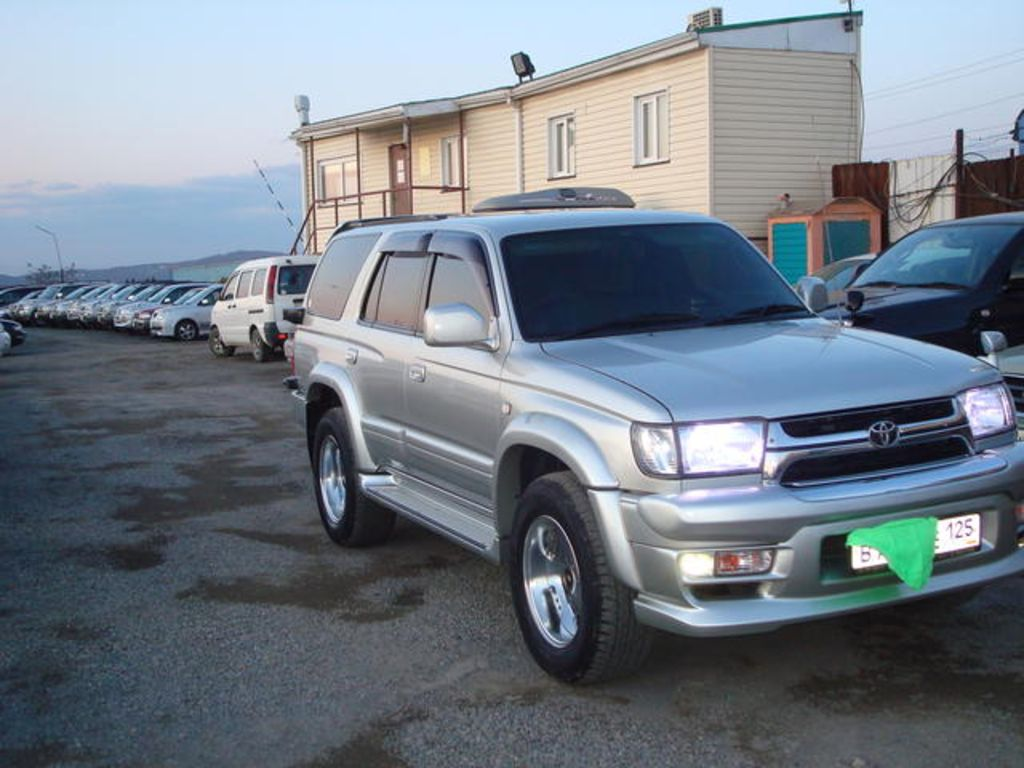 2001 toyota hilux surf pictures 3000cc diesel automatic for sale