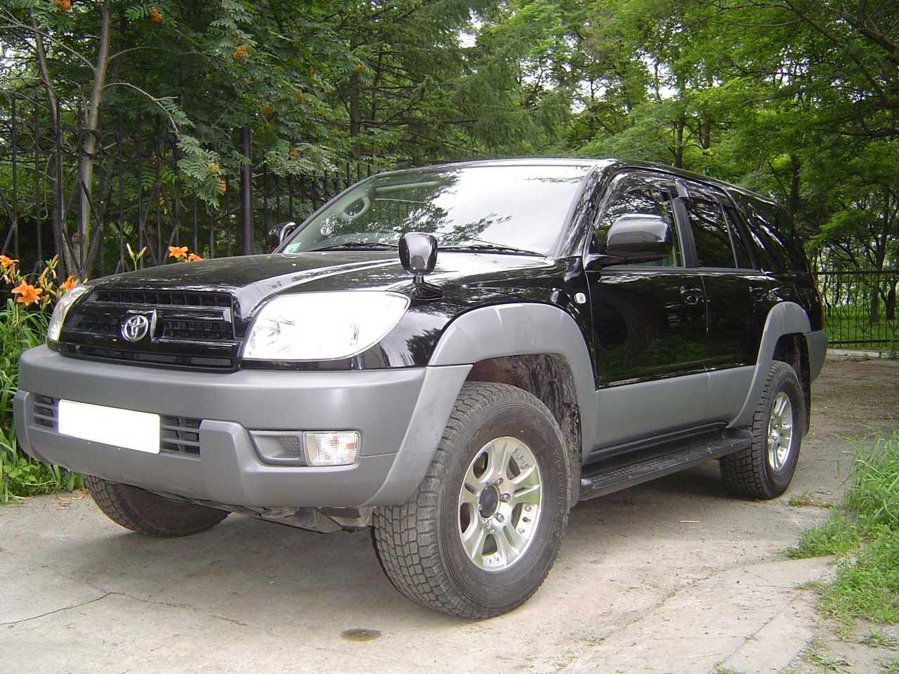 2004 Toyota Hilux Surf Specs  Engine Size 2700cm3  Fuel