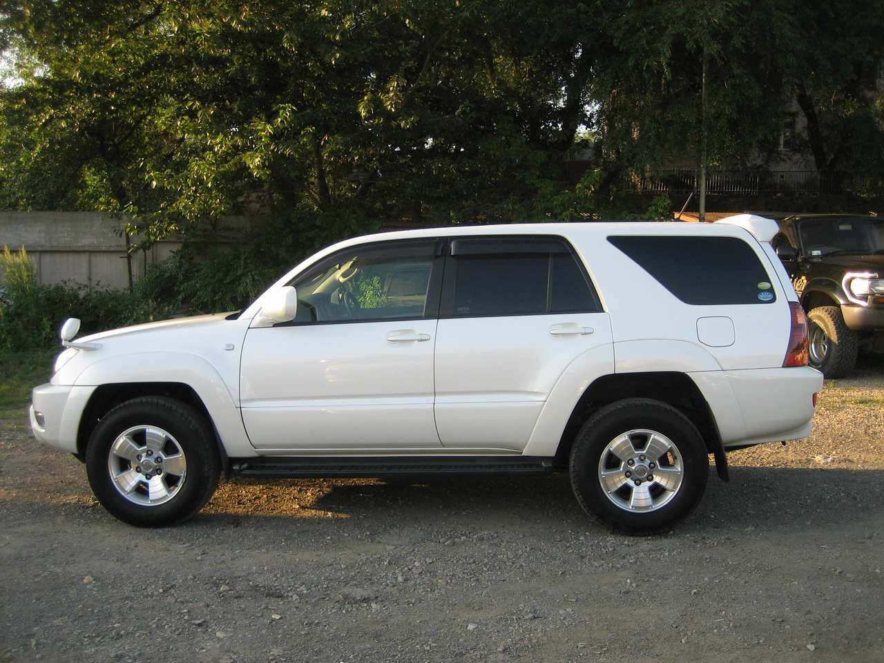White 2004 Toyota Sequoia Off Road