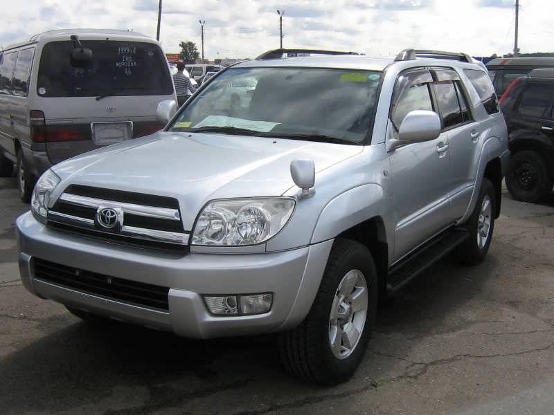 2005 Toyota Hilux Surf Specs  Engine Size 2700cm3  Fuel