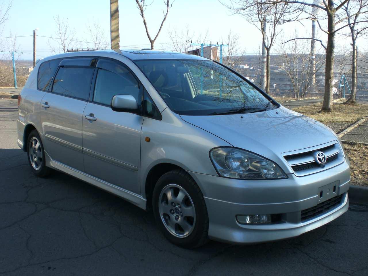 2002 Toyota Ipsum Pictures 2 4l Gasoline Ff Automatic