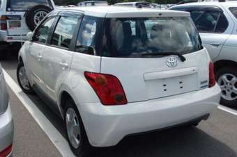 2002 Toyota Ist Pictures For Sale