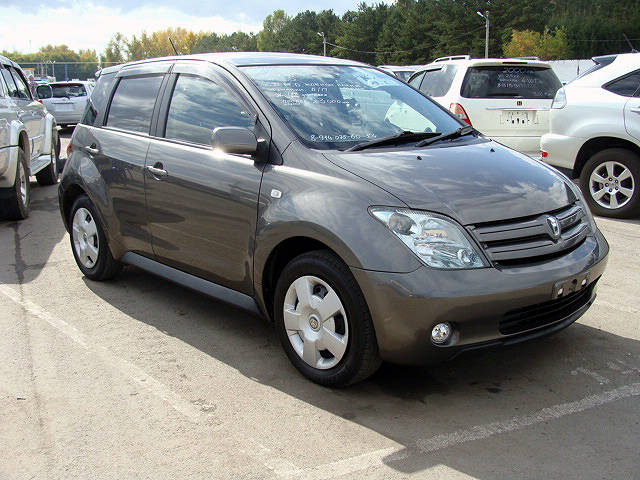 2004 Toyota Ist Pictures 1 5l Gasoline Ff Automatic
