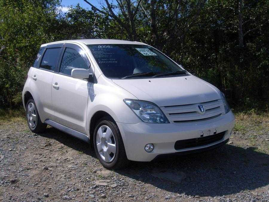 2005 Toyota Ist Pictures 1 3l Gasoline Ff Automatic