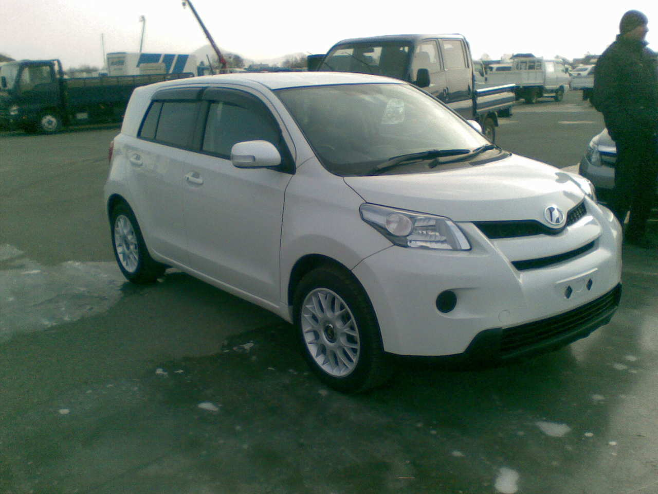2009 Toyota Ist Pictures 1500cc Gasoline Ff Automatic