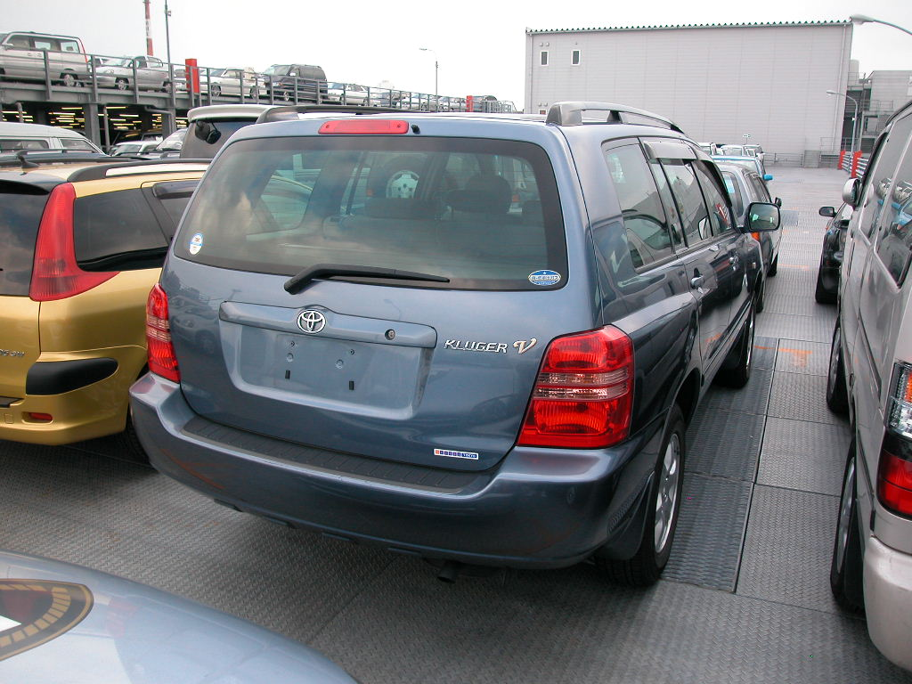 used 2001 toyota kluger v photos