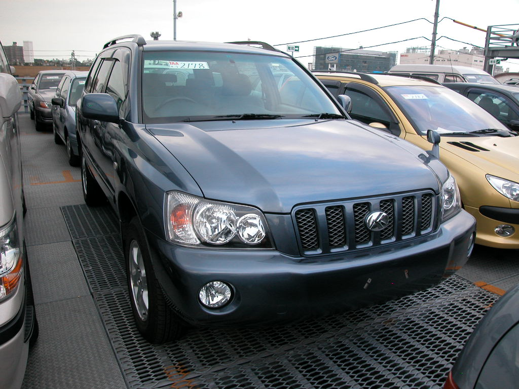 2001 toyota kluger v for sale