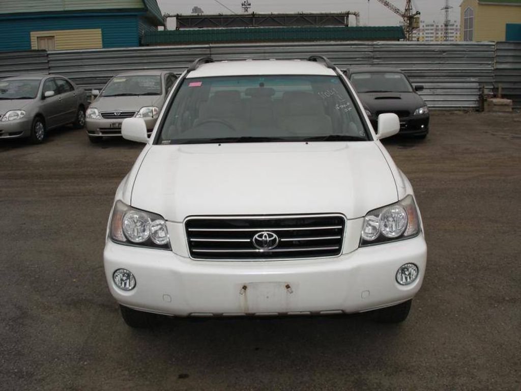 2001 toyota kluger v photos