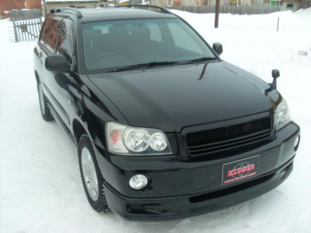 2002 toyota kluger v photos