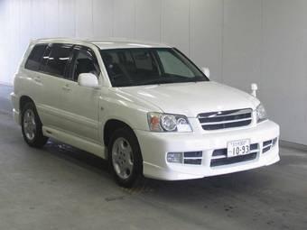 2001 Toyota Kluger Price