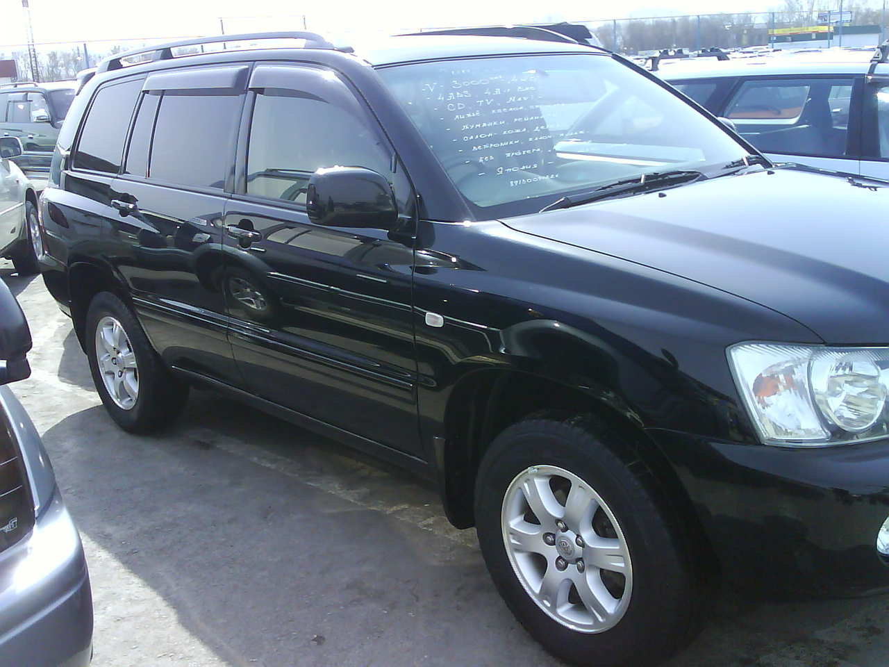 2002 toyota kluger v pics 30 gasoline automatic for sale