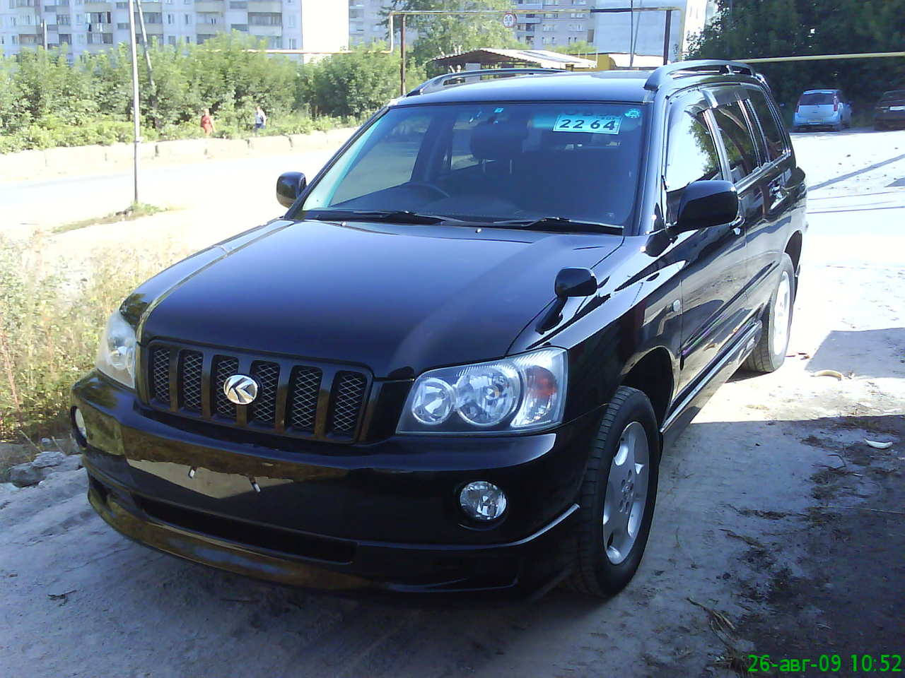 2002 toyota kluger v pics 24 gasoline automatic for sale