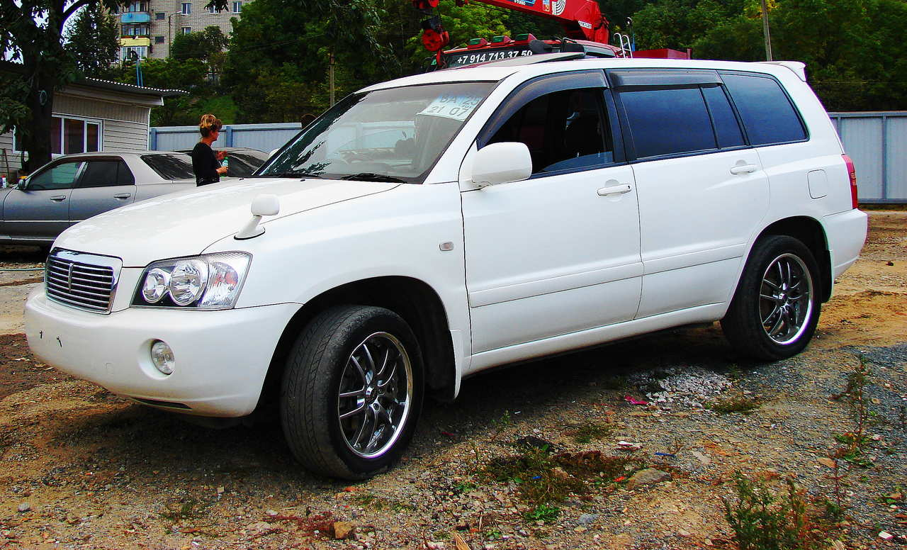 toyota kluger specifications auto cars
