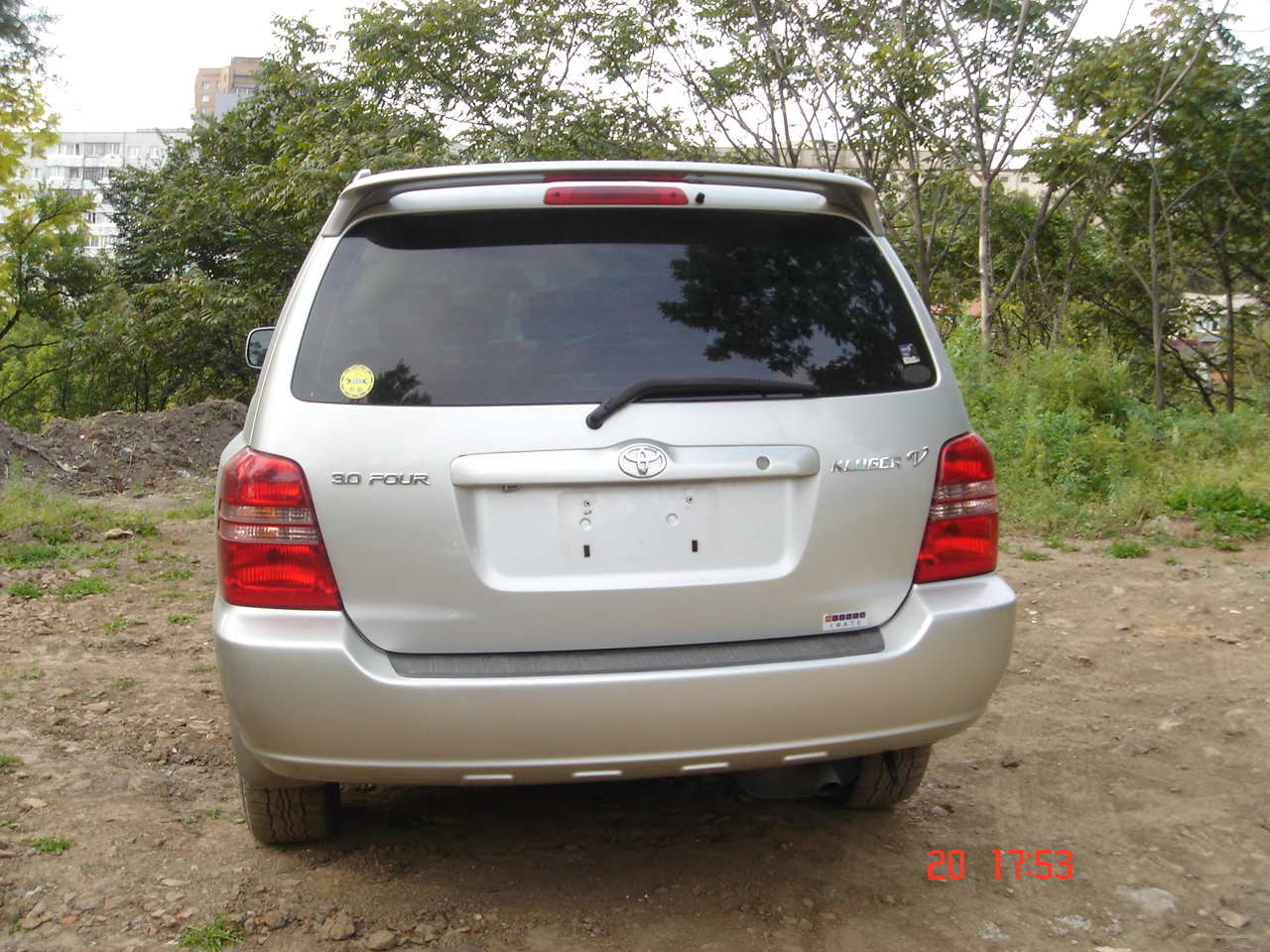 2003 toyota kluger v photos 30 gasoline automatic for sale