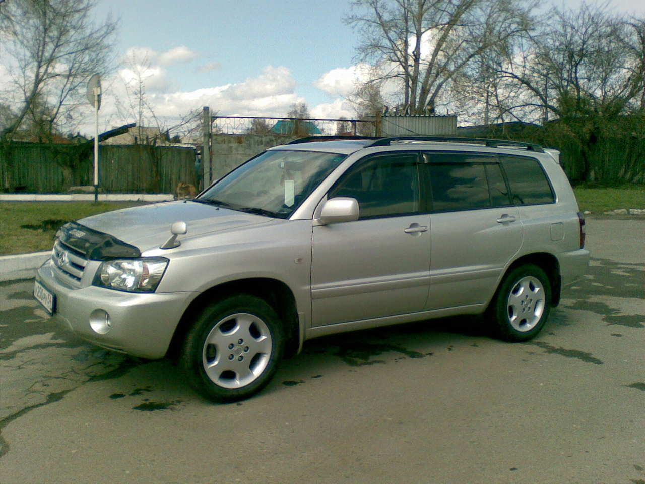 2004 toyota kluger v for sale 2400cc gasoline ff