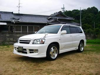 Toyota kluger 2004 specifications