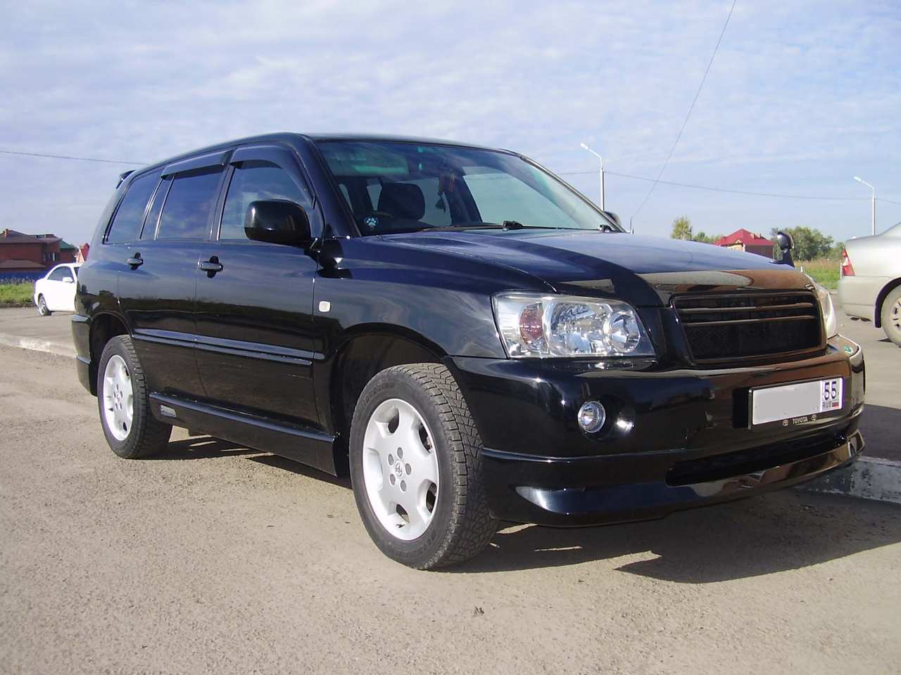2004 toyota kluger v photos 24 gasoline automatic for sale
