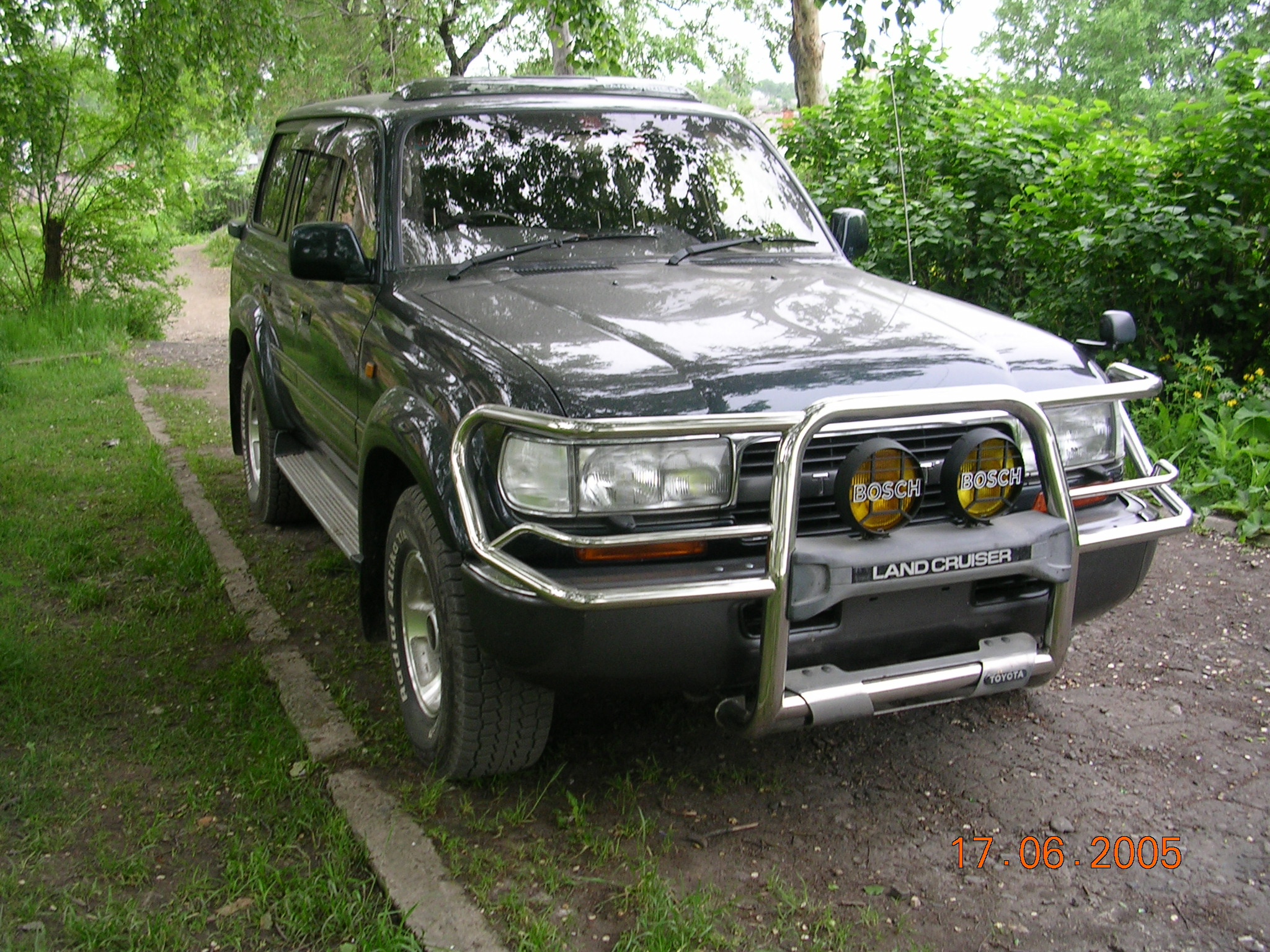 1994 Toyota LAND Cruiser Pictures, 4500cc., Gasoline, Automatic For ...