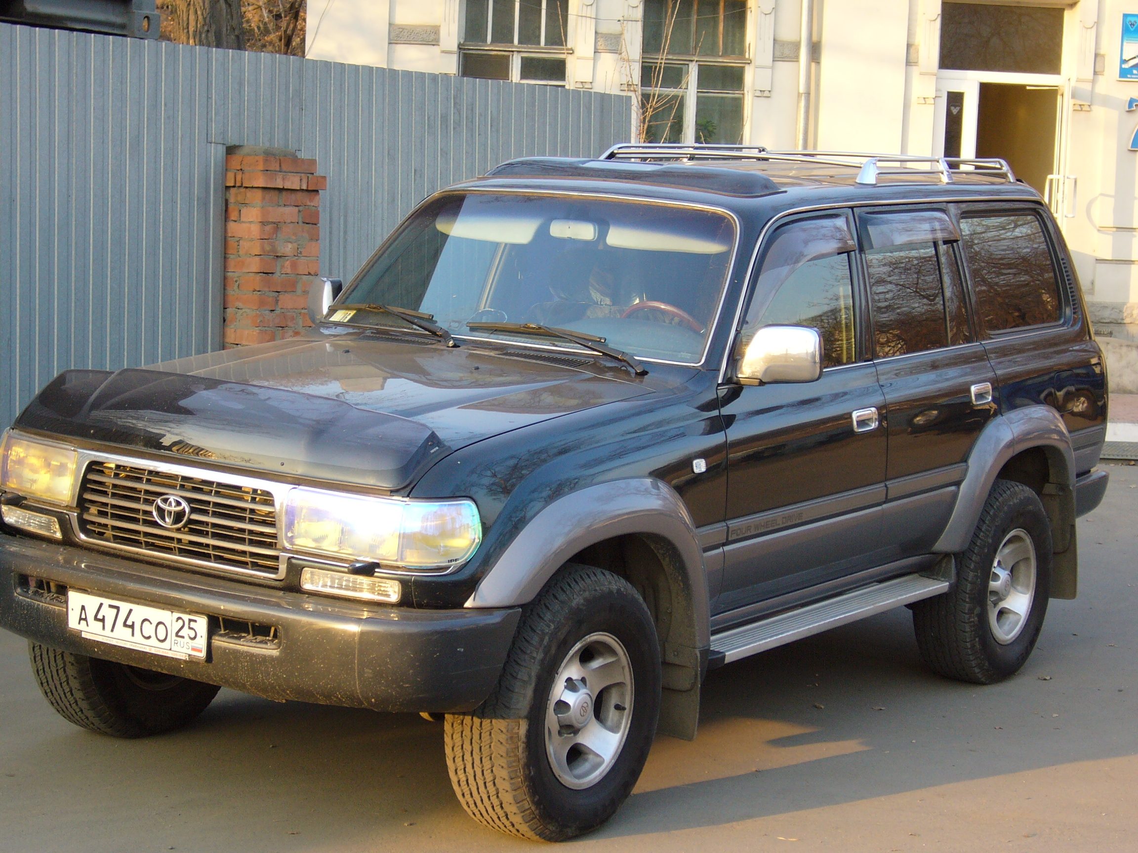 1996 Toyota Land Cruiser Pictures 4200cc Diesel Manual