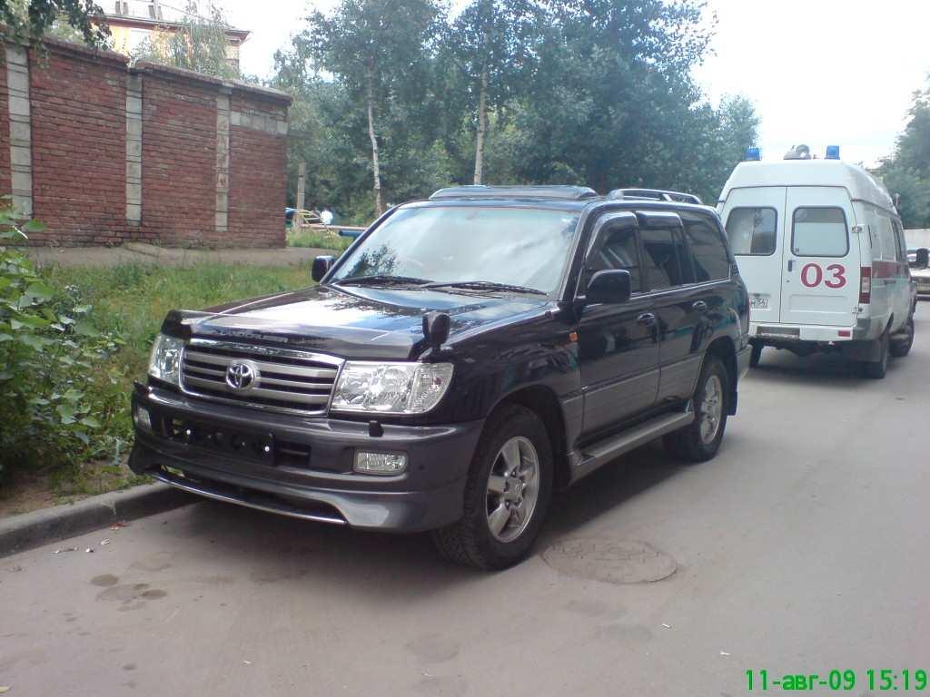 2005 toyota land cruiser photos 4 7 gasoline automatic for sale. Black Bedroom Furniture Sets. Home Design Ideas