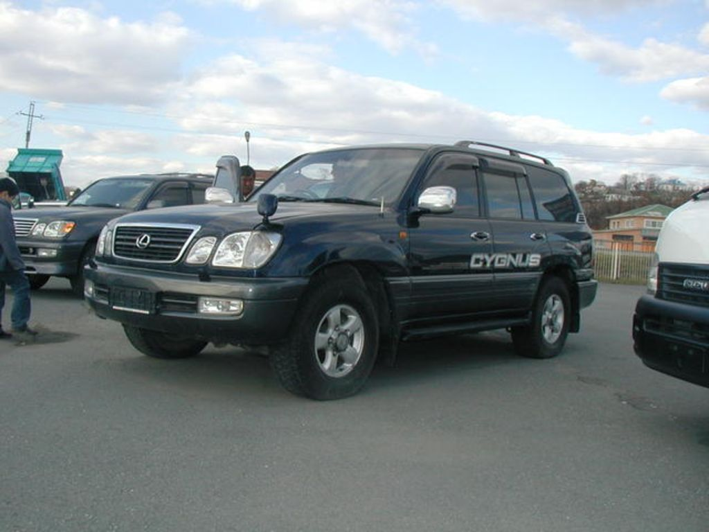 1998 toyota land cruiser cygnus for sale. Black Bedroom Furniture Sets. Home Design Ideas